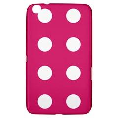 Pink Dot Samsung Galaxy Tab 3 (8 ) T3100 Hardshell Case