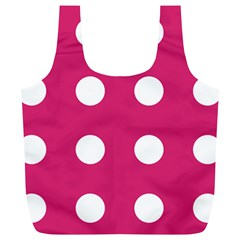 Pink Dot Full Print Recycle Bags (l)