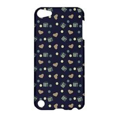 Blue Milk Hearts Apple Ipod Touch 5 Hardshell Case