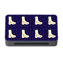 Navy Boots Memory Card Reader With Cf
