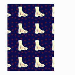 Navy Boots Small Garden Flag (two Sides)