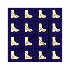 Navy Boots Acrylic Tangram Puzzle (6  X 6 )