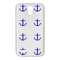 Royal Anchors On White Samsung Galaxy Mega 6 3  I9200 Hardshell Case