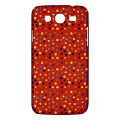 Red Retro Dots Samsung Galaxy Mega 5 8 I9152 Hardshell Case