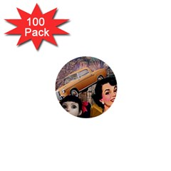 Out In The City 1  Mini Buttons (100 Pack)