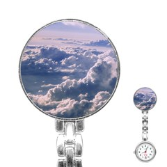 In The Clouds Stainless Steel Nurses Watch