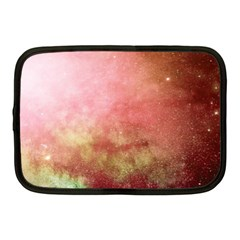 Galaxy Red Netbook Case (medium) by snowwhitegirl