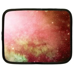 Galaxy Red Netbook Case (large) by snowwhitegirl