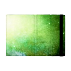 Galaxy Green Ipad Mini 2 Flip Cases by snowwhitegirl