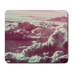 In The Clouds Pink Large Mousepads