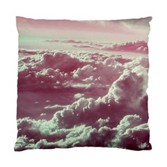 In The Clouds Pink Standard Cushion Case (two Sides)