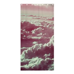 In The Clouds Pink Shower Curtain 36  X 72  (stall)