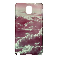 In The Clouds Pink Samsung Galaxy Note 3 N9005 Hardshell Case