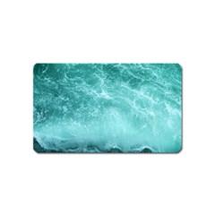 Green Ocean Splash Magnet (name Card)