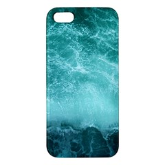 Green Ocean Splash Iphone 5s/ Se Premium Hardshell Case by snowwhitegirl