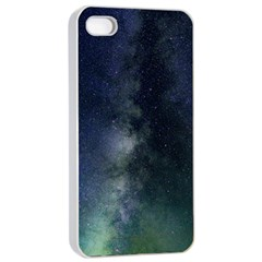 Galaxy Sky Apple Iphone 4/4s Seamless Case (white)
