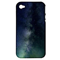 Galaxy Sky Apple Iphone 4/4s Hardshell Case (pc+silicone)