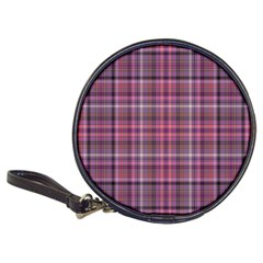 Pink Plaid Classic 20 Cd Wallets