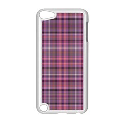 Pink Plaid Apple Ipod Touch 5 Case (white)