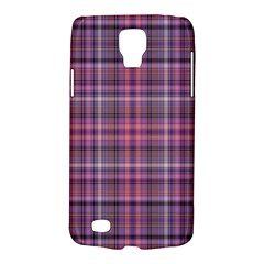 Pink Plaid Samsung Galaxy S4 Active (i9295) Hardshell Case