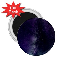 Galaxy Sky Purple 2 25  Magnets (100 Pack)