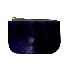 Galaxy Sky Purple Mini Coin Purse