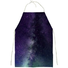 Galaxy Sky Purple Full Print Aprons