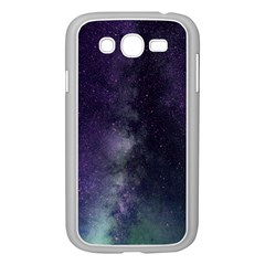 Galaxy Sky Purple Samsung Galaxy Grand Duos I9082 Case (white)