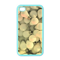 Bulbs Apple Iphone 4 Case (color)
