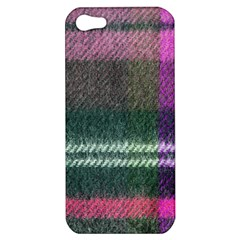 Pink Plaid Flannel Apple Iphone 5 Hardshell Case by snowwhitegirl
