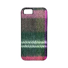 Pink Plaid Flannel Apple Iphone 5 Classic Hardshell Case (pc+silicone)