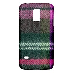 Pink Plaid Flannel Samsung Galaxy S5 Mini Hardshell Case