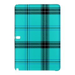 Aqua Plaid Samsung Galaxy Tab Pro 10 1 Hardshell Case
