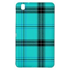 Aqua Plaid Samsung Galaxy Tab Pro 8 4 Hardshell Case
