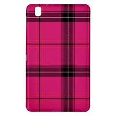 Dark Pink Plaid Samsung Galaxy Tab Pro 8 4 Hardshell Case