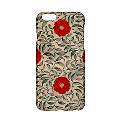 Papanese Floral Red Apple Iphone 6/6s Hardshell Case