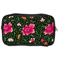 Pink Japan Floral Toiletries Bag (one Side)