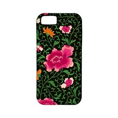 Pink Japan Floral Apple Iphone 5 Classic Hardshell Case (pc+silicone) by snowwhitegirl