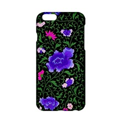 Blue  Japan Floral Apple Iphone 6/6s Hardshell Case