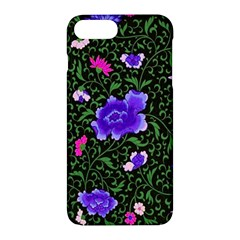 Blue  Japan Floral Apple Iphone 7 Plus Hardshell Case