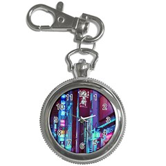 Japan City Key Chain Watches