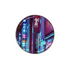 Japan City Hat Clip Ball Marker (4 Pack)