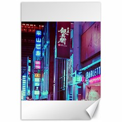 Japan City Canvas 20  X 30