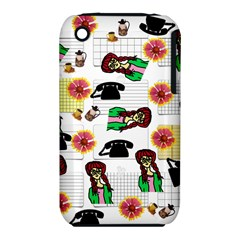 Office Girl Pattern Iphone 3s/3gs