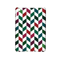 Zigzag Chevron Pattern Green Red Ipad Mini 2 Hardshell Cases