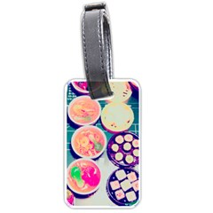 Ramen And Sushi Luggage Tags (one Side)