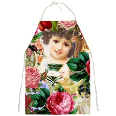 Little Girl Victorian Collage Full Print Aprons