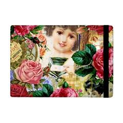 Little Girl Victorian Collage Apple Ipad Mini Flip Case