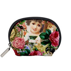 Little Girl Victorian Collage Accessory Pouch (small)