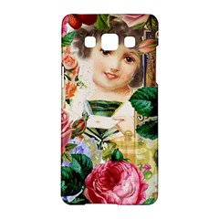 Little Girl Victorian Collage Samsung Galaxy A5 Hardshell Case